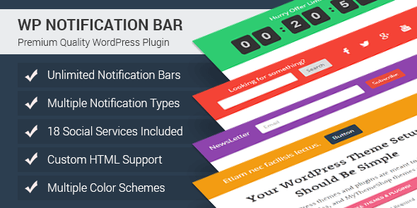 WP Notification Bar Pro-590×295